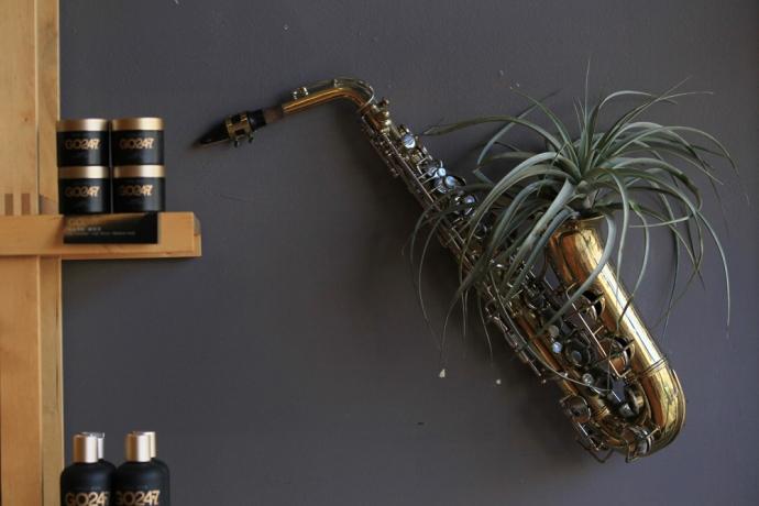 saxofon decora vivienda