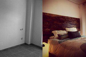 reforma de habitación de vivienda en almeria