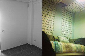 decoración y reforma de habitacion