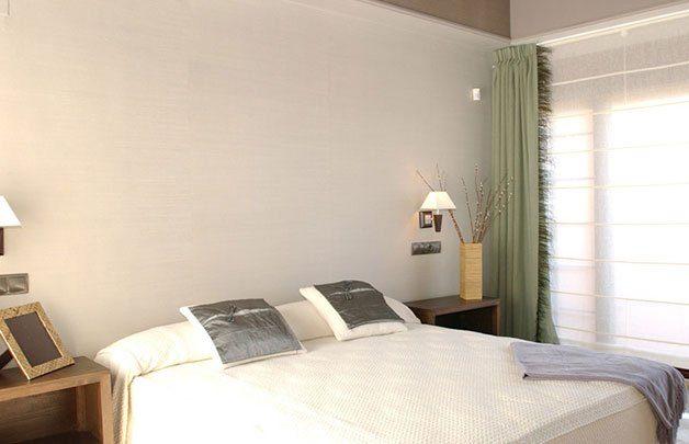 decoración dormitorio vivienda piloto