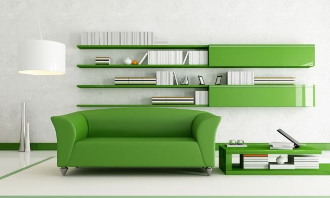 consejos para decorar en verde una vivienda