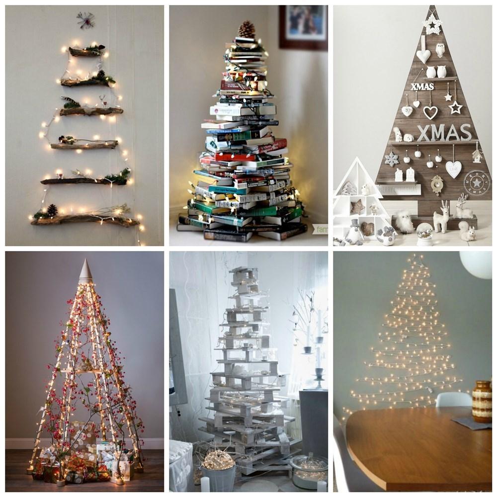 Decora tu casa con un rbol de navidad muy original for Figuras de navidad para decorar