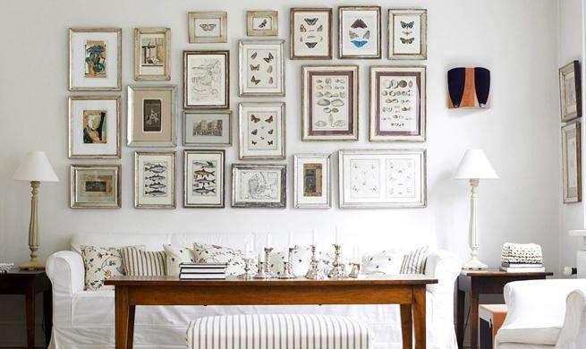 Decora Tu Casa Con Marcos De Cuadros Dimensi On - Decorar-con-marcos-de-fotos
