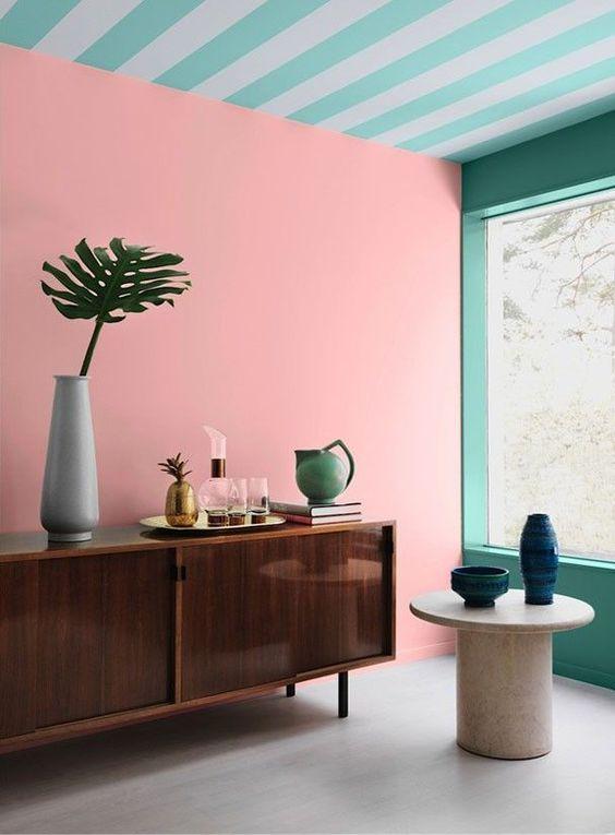 Combinar colores Pantone 2016 en paredes y techos