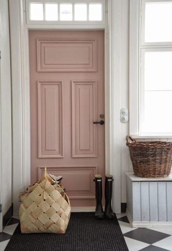 Puerta de entrada Rose Quartz