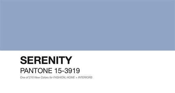 Serenity Pantone 15-3919