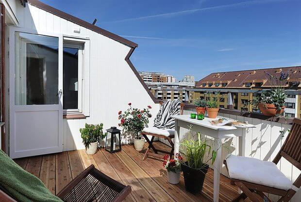 Decorarcion mobiliario exteriores terraza atico patio balcon