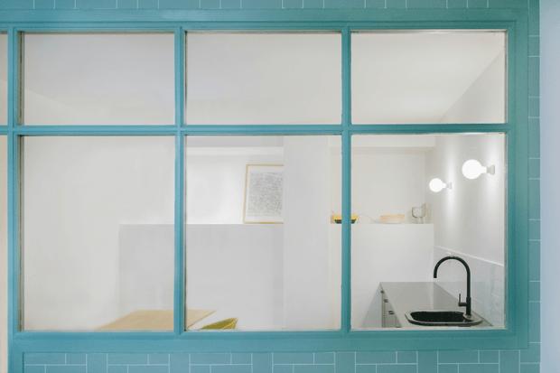 Oficina original interiorismo con encantro Malasaña Madrid Dimensi-on