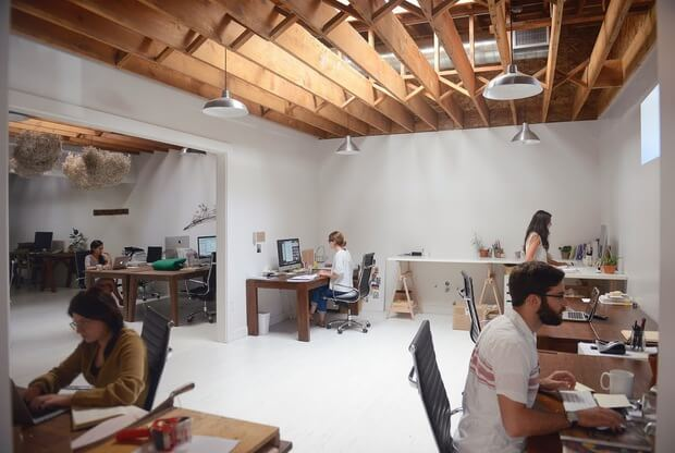 Oficinas revista Kinfolk para amantes del diseño y el lifestyle Dimensi-on