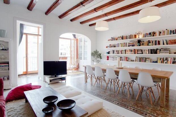 Apartamentos con encanto en Barceloa decoracion - Dimensi-on (1)