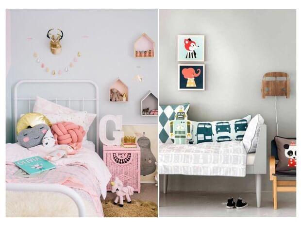Ideas con textiles para decorar habitaciones de ni+¦o y ni+¦a Dimensi-on