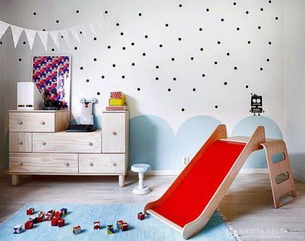Ideas y consejos para decorar con papel y vinlo habitaciones de ni+¦os
