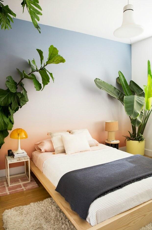 Decorar dormitorios verano con plantas Dimensi-on