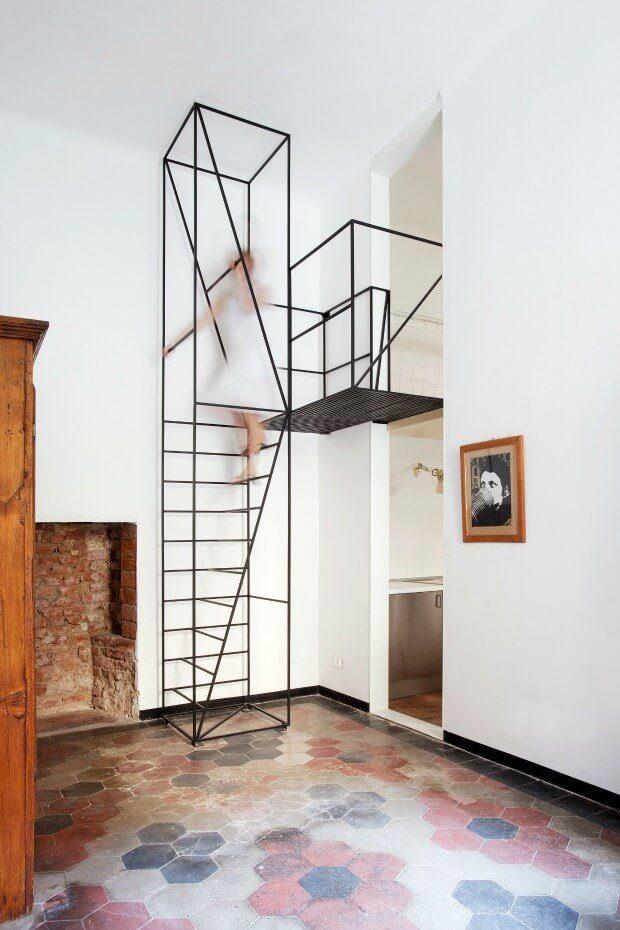 Escalera de diseño Dimensi-on