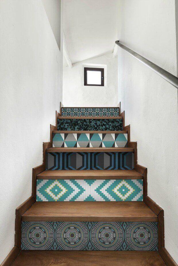 Escalera original interiorismo Dimensi-on