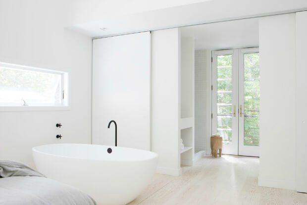 Grifos negro baño moderno minimalista - Dimensi-on