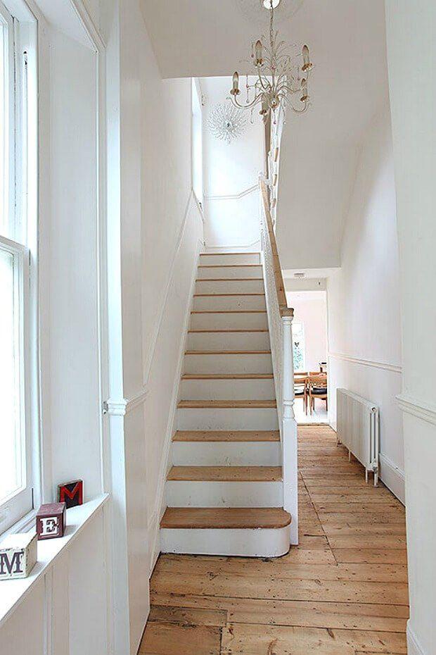 Escalera recta poco espacio Dimensi-on