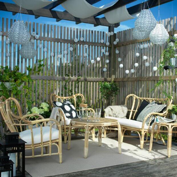 Apredne a decorar terrazas pequeñas Dimensi-on