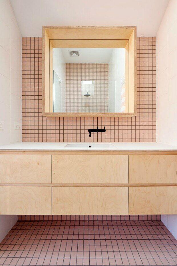 Griferias negras baños estilo nórdico escandinavo Dimensi-on