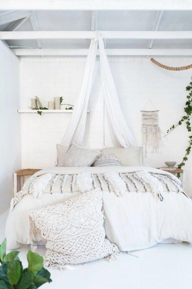 Decorar habitaciones verano textil lino algodon Dimensi-on