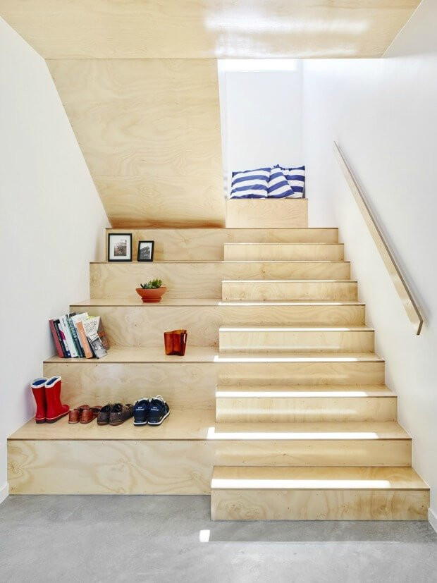 Escaleras en alturas madera arquitectura interior Dimensi-on