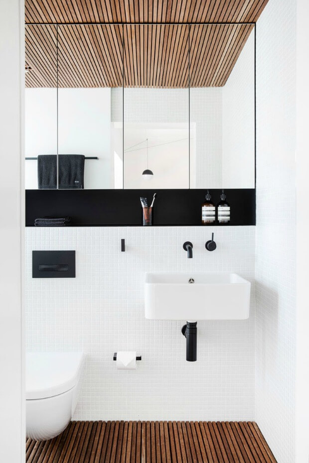 Grifos color negro para baño tendencia - Dimensi-on
