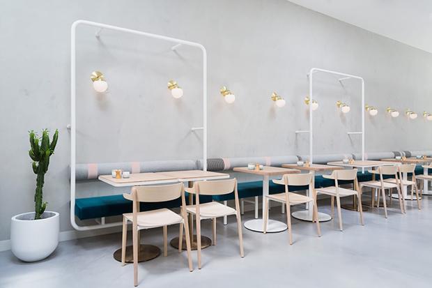 Ltimas tendencias en los dise os de cafeter as y restaurantes for Diseno de interiores cafeterias pequenas