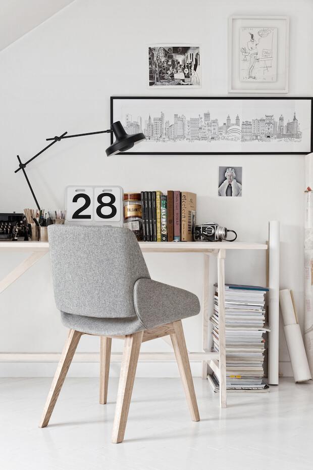 Esapacios de trabajo en casa: luz e iluminacion artificial