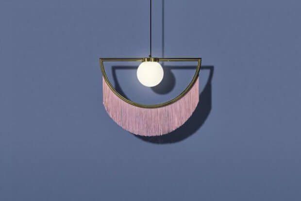 Tendencias iluminacion: lamparas de flecos