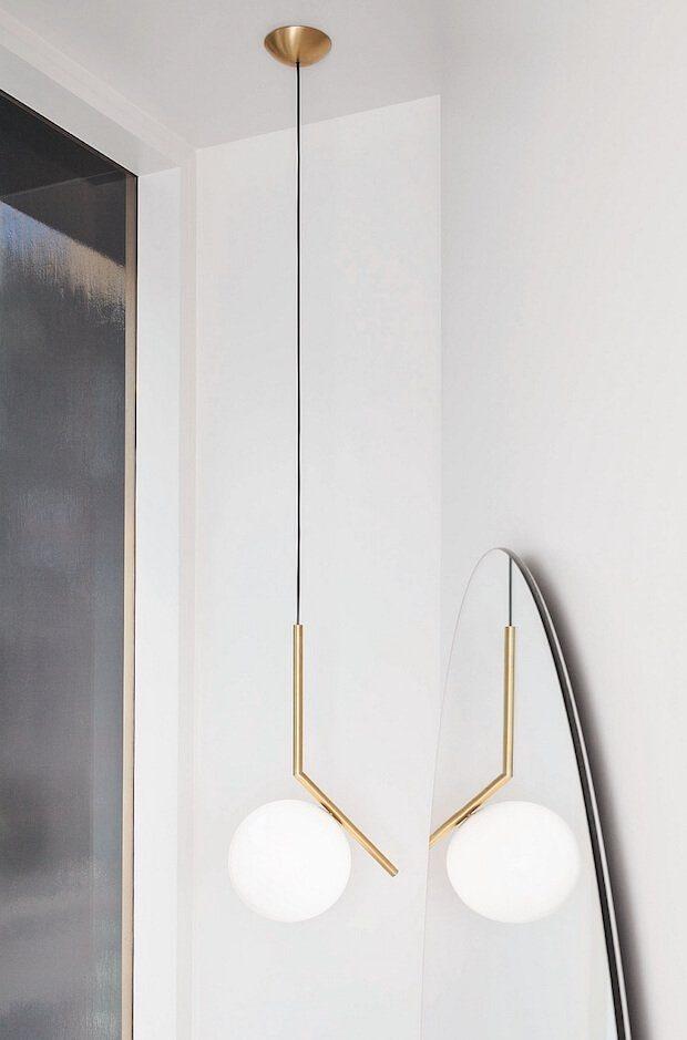 Tendencias iluminacion: lampara globos cristal