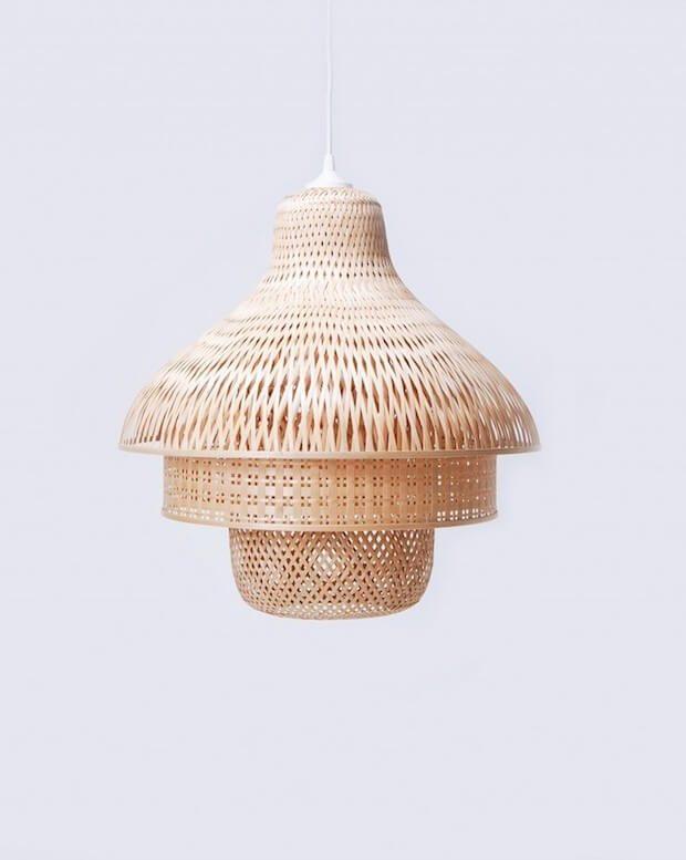 Tendencias iluminacion: Bamboo Pendant Ligths de Daphna Laurens