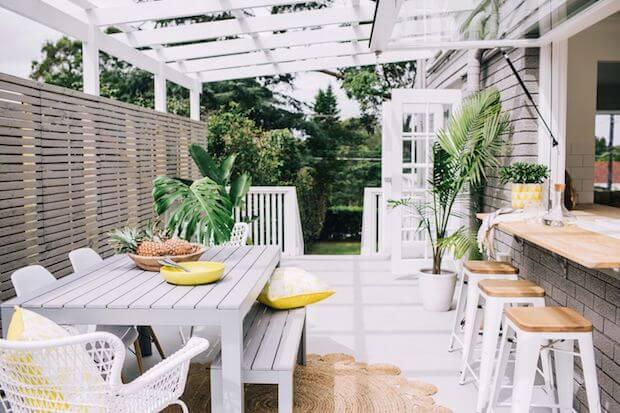 muebles de comedor para exterior