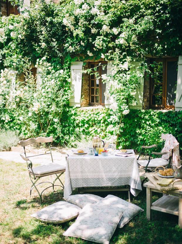 muebles comedores exterior jardin