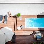 8 tipos de piscinas - Foto: Eric Vökel Madrid Suites