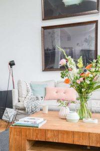 Consejos para decorar con flores jarrones de cristal