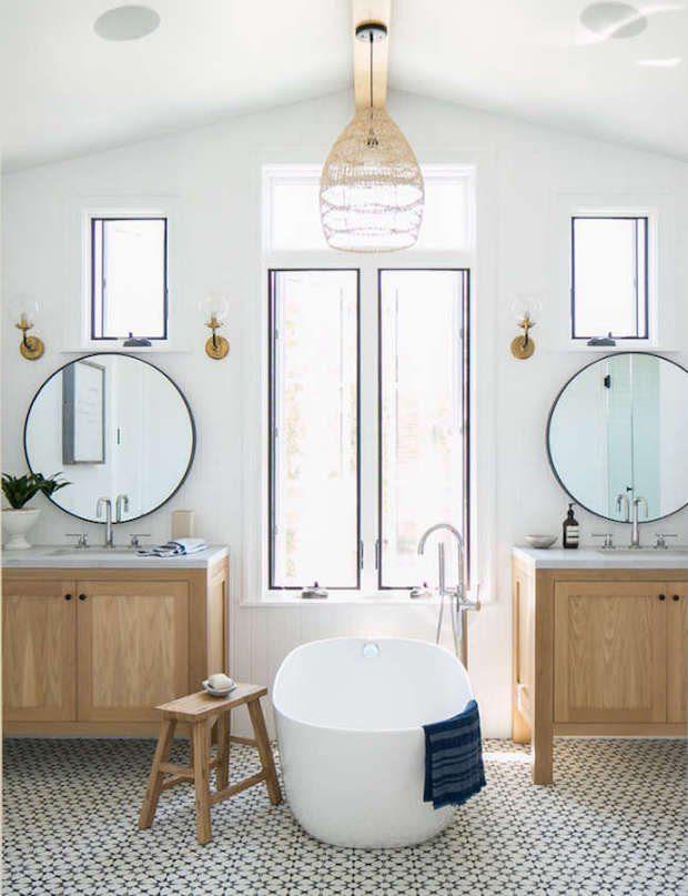 Tendencia baños 2018: bañeras exentas