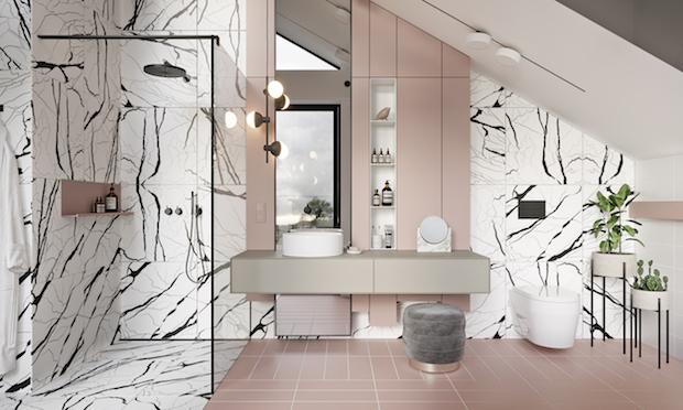 Decoración de baños con encanto