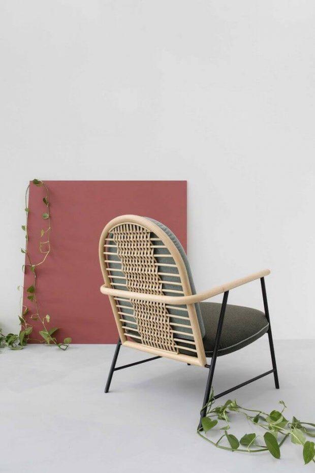 Tendencias decoración otoño 2018 muebles trenzados