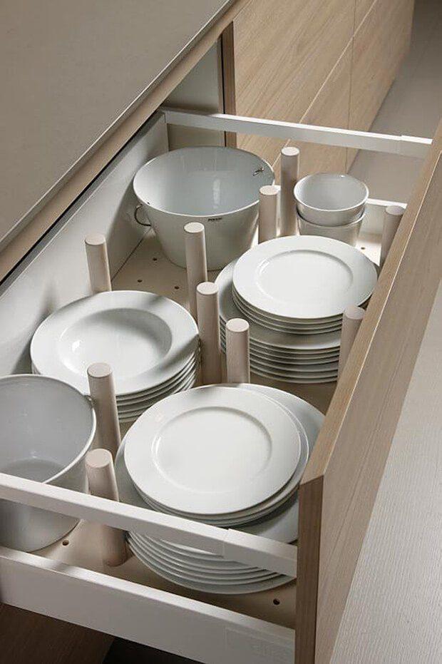 Cocinas actuales soluciones de almacenaje