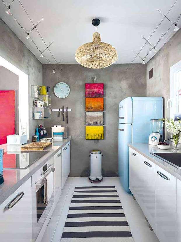 Cocinas actuales electrodomésticos vintage