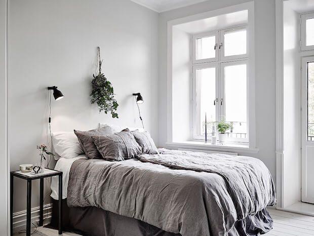 Ropa de cama en lino natural