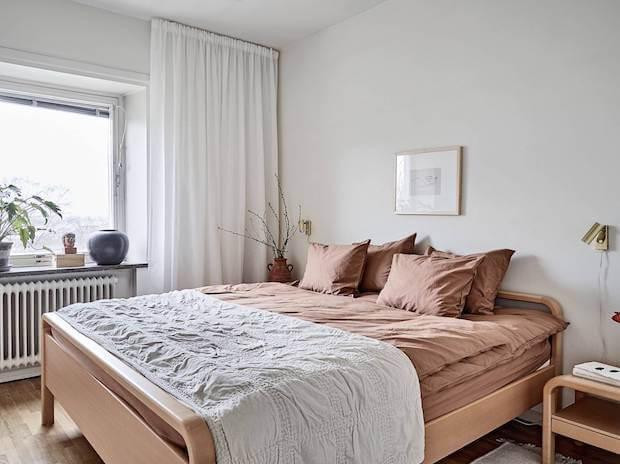 Ropa de cama plaids de lino