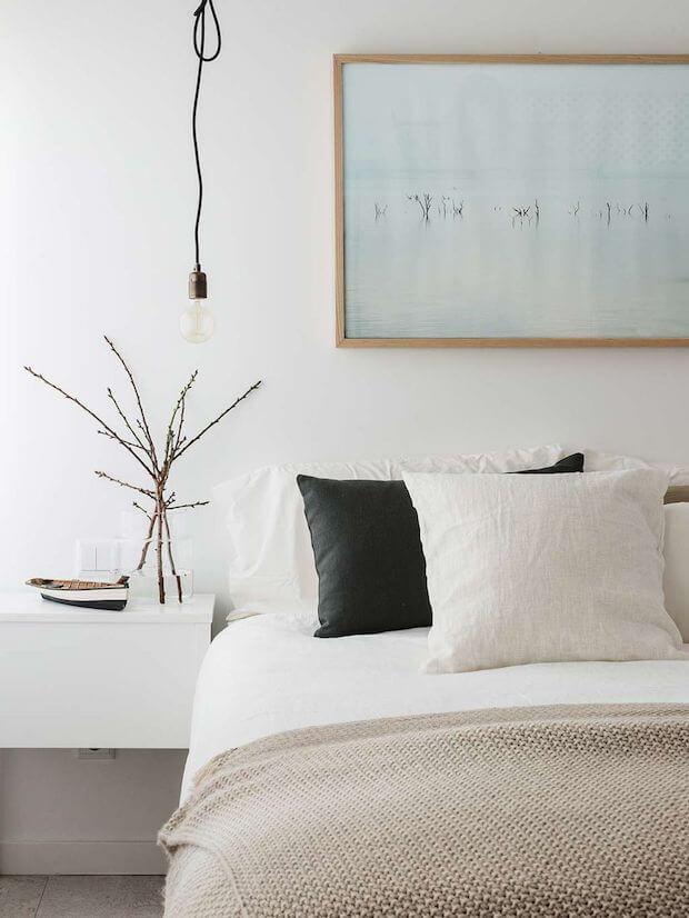 Ropa de cama de lino