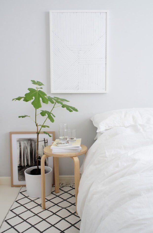 Ropa de cama de lino natural
