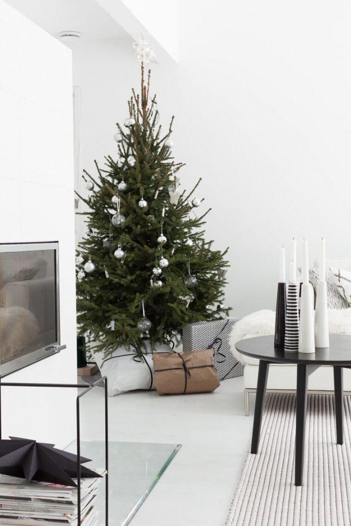 Tendencias decoración navideña árbol