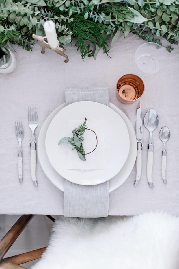 Tendencias decoración mesas de Navidad