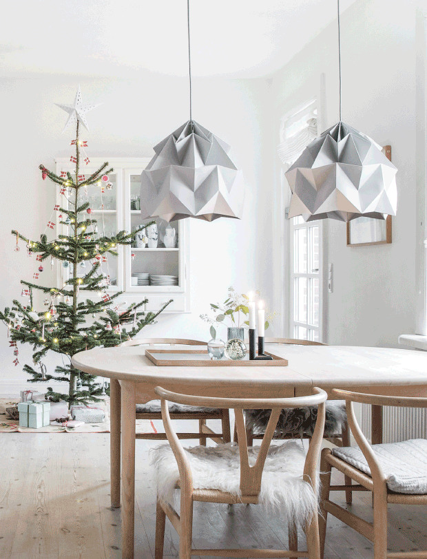 Tendencia decoración navideña minimalista