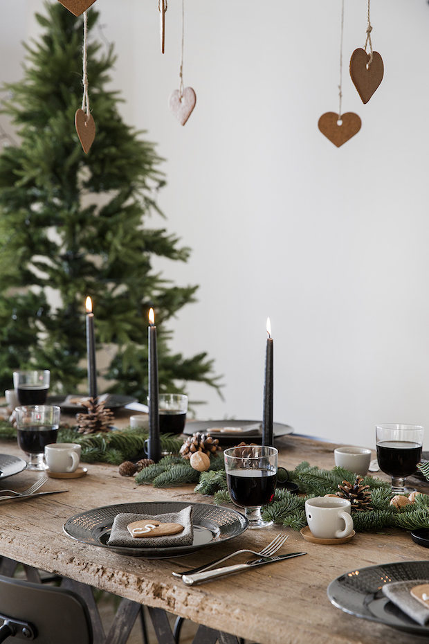 Decorar mesas de Navidad 2018