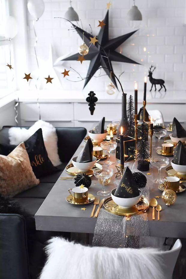 Como poner una mesa de Navidad original