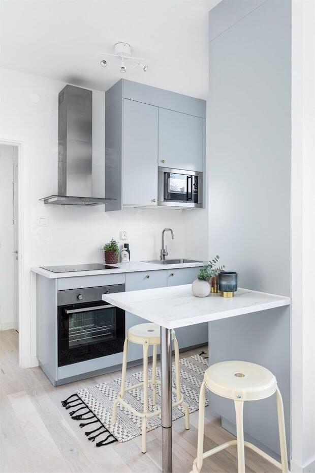 Cómo organizar cocinas pequeñas